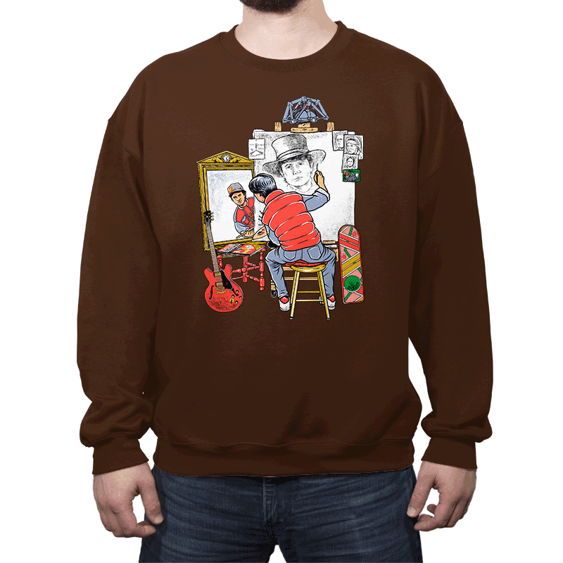 Marty Future Self Portrait - Crew Neck - Crew Neck - RIPT Apparel
