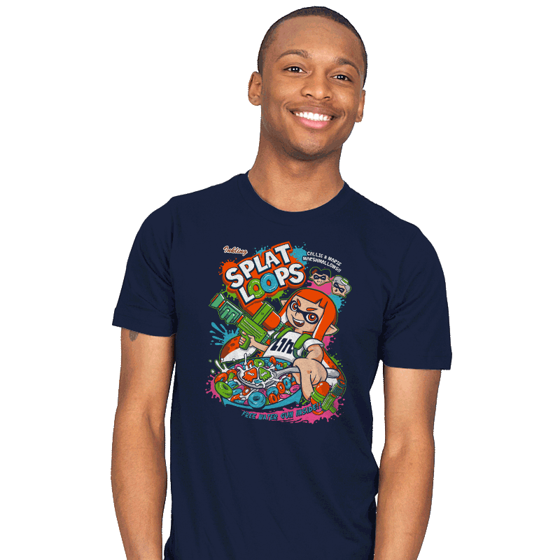 Splat Loops - Mens - T-Shirts - RIPT Apparel