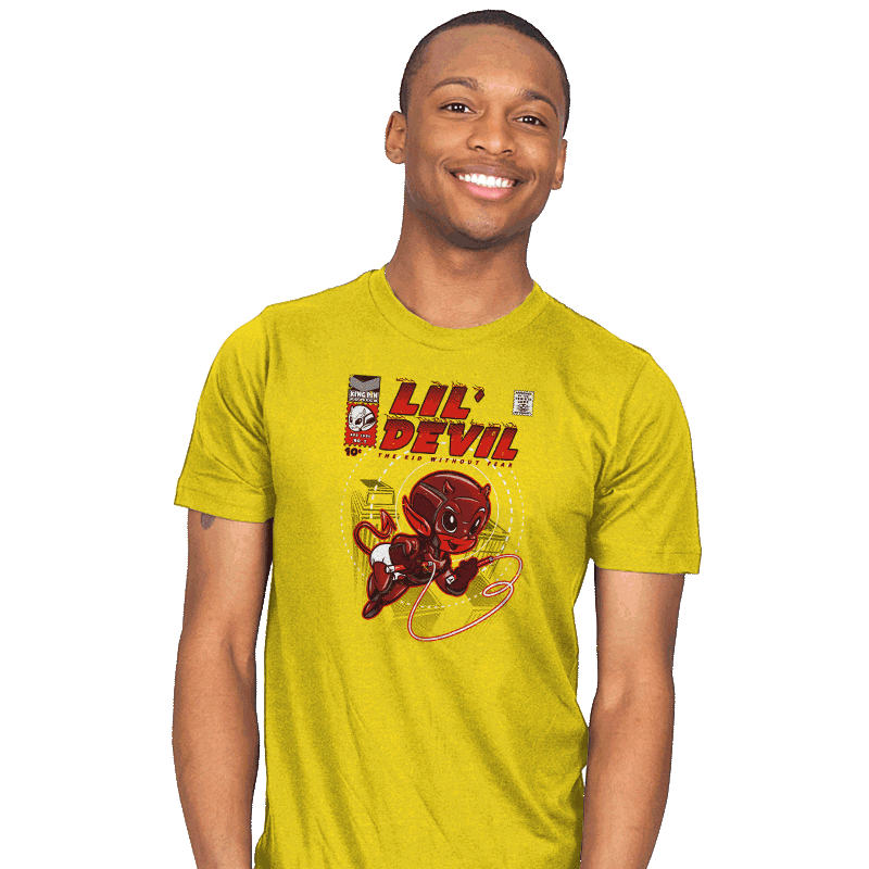 Lil' Devil - Mens - T-Shirts - RIPT Apparel