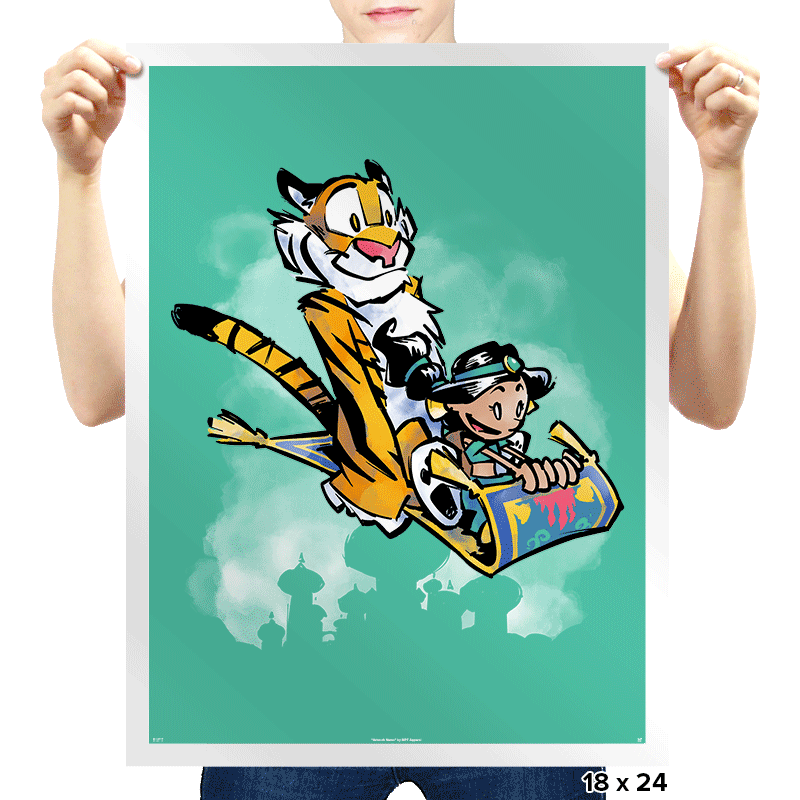 Jasmine and Rajah - Prints - Posters - RIPT Apparel