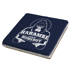 Harambe is my Homeboy Exclusive - Coasters - Coasters - RIPT Apparel
