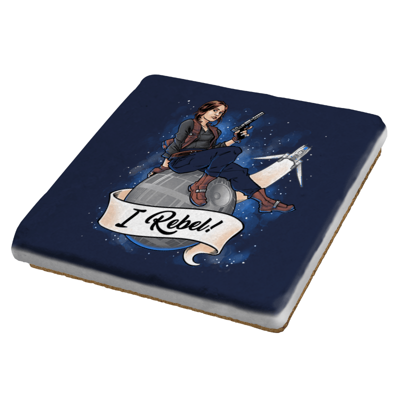 I Rebel! Exclusive - Coasters - Coasters - RIPT Apparel