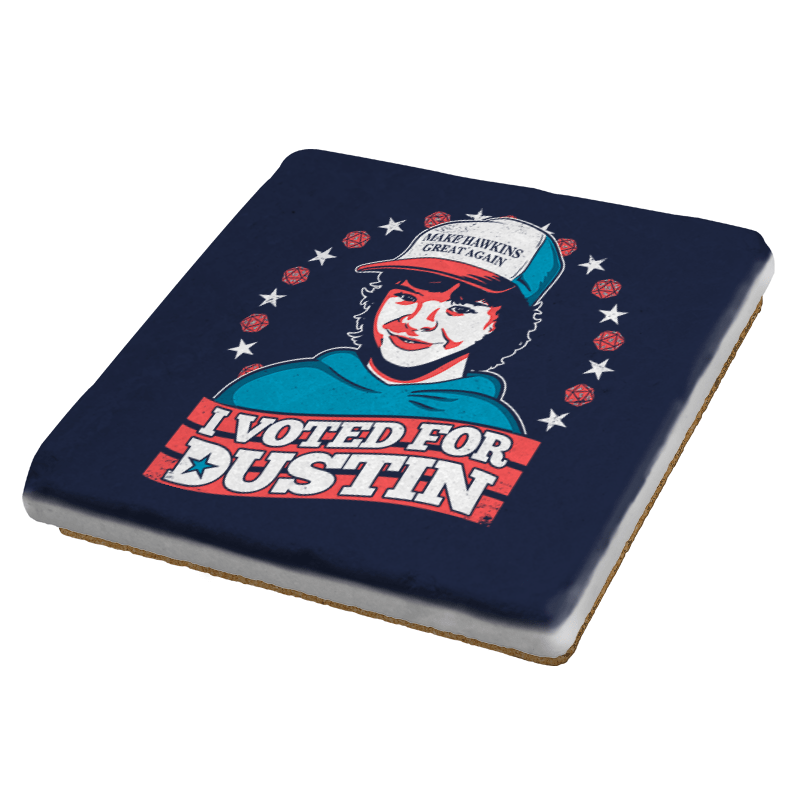 I Voted for Dustin Exclusive - Coasters - Coasters - RIPT Apparel