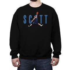 Air Scott - Crew Neck Sweatshirt - Crew Neck Sweatshirt - RIPT Apparel