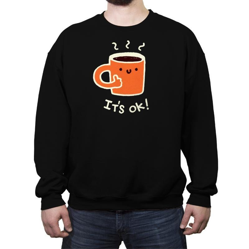 Coffedence - Crew Neck Sweatshirt - Crew Neck Sweatshirt - RIPT Apparel