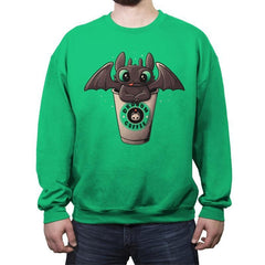 Dragon's Drip - Crew Neck Sweatshirt - Crew Neck Sweatshirt - RIPT Apparel