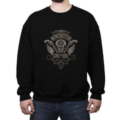 Guns for Hire - Crew Neck Sweatshirt - Crew Neck Sweatshirt - RIPT Apparel