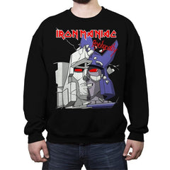 Iron Maniac - Crew Neck Sweatshirt - Crew Neck Sweatshirt - RIPT Apparel