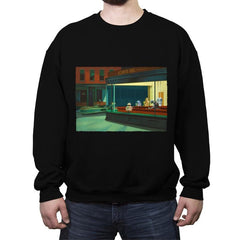 NightDroids - Crew Neck Sweatshirt - Crew Neck Sweatshirt - RIPT Apparel