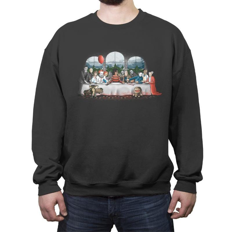 Terror Dinner - Crew Neck Sweatshirt - Crew Neck Sweatshirt - RIPT Apparel