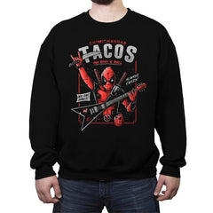 The Mercenary Rockstar - Crew Neck Sweatshirt - Crew Neck Sweatshirt - RIPT Apparel