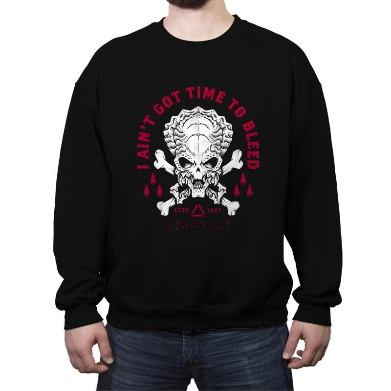 Time to Bleed - Crew Neck Sweatshirt - Crew Neck Sweatshirt - RIPT Apparel