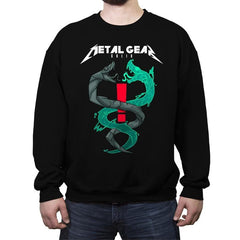 Twin Snakes - Crew Neck Sweatshirt - Crew Neck Sweatshirt - RIPT Apparel