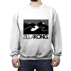 ZillaKong - Crew Neck Sweatshirt - Crew Neck Sweatshirt - RIPT Apparel