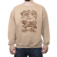 The Smuggler's Map - Crew Neck Sweatshirt - Crew Neck Sweatshirt - RIPT Apparel