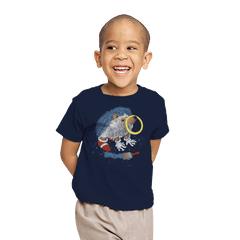 He Wants to be the Fastest One - Youth - T-Shirts - RIPT Apparel