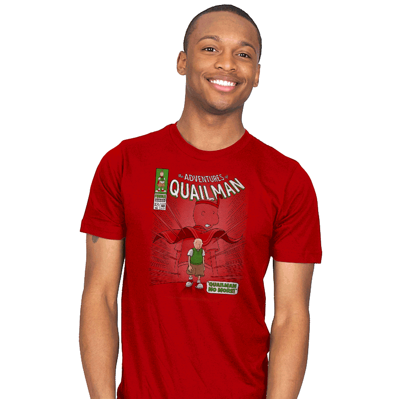 Quailman No More - Mens - T-Shirts - RIPT Apparel