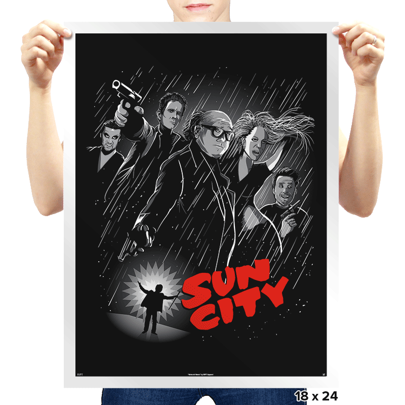 Sun City - Prints - Posters - RIPT Apparel