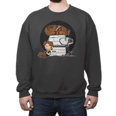 Han Brown - Crew Neck - Crew Neck - RIPT Apparel