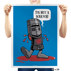 A Vintage Flesh Wound - Prints - Posters - RIPT Apparel