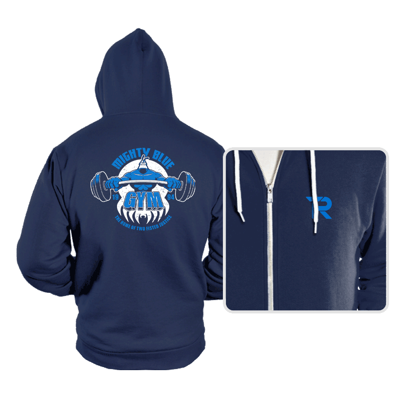 Mighty Blue Gym - Hoodies - Hoodies - RIPT Apparel