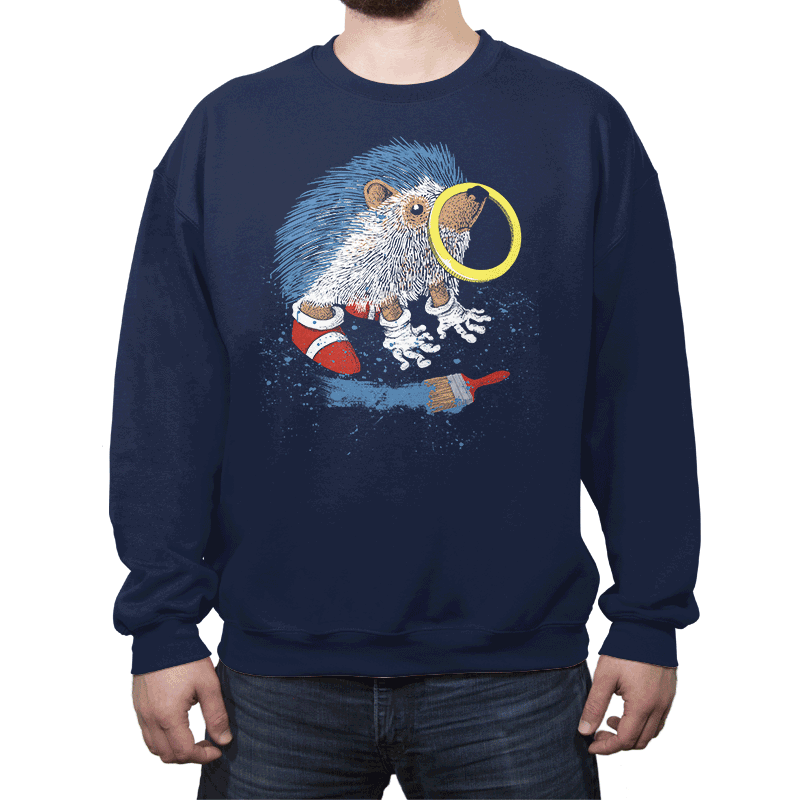 He Wants to be the Fastest One - Crew Neck - Crew Neck - RIPT Apparel