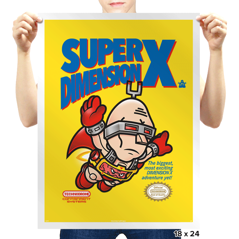 Super Dimension X - Prints - Posters - RIPT Apparel
