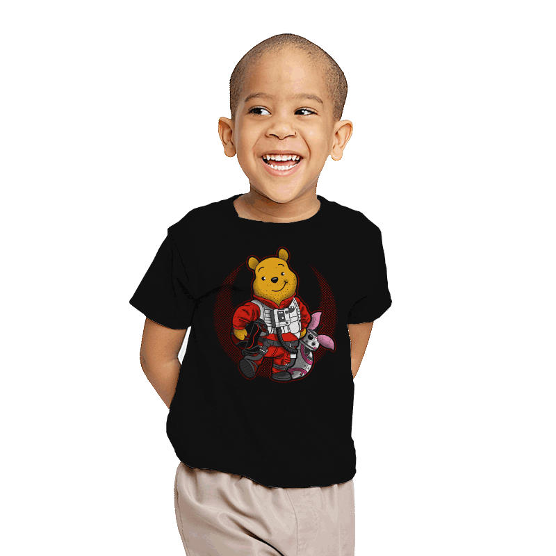 Pooh Dameron - Youth - T-Shirts - RIPT Apparel