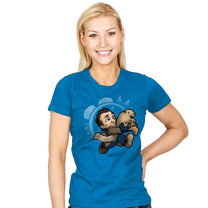 Super Groundhog Bros. - Womens - Juniors - T-Shirts - RIPT Apparel