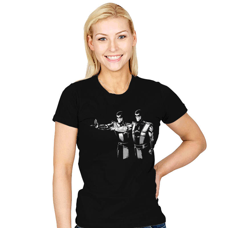 Pulp Ninjas - Womens - T-Shirts - RIPT Apparel
