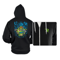 Poke Turtles - Hoodies - Hoodies - RIPT Apparel