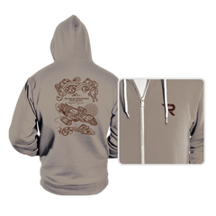 The Smuggler's Map - Hoodies - Hoodies - RIPT Apparel