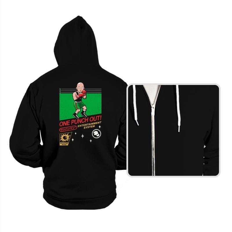 One Punch Out - Hoodies - Hoodies - RIPT Apparel