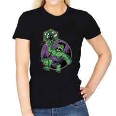 Super Smash Bricks - Womens - T-Shirts - RIPT Apparel
