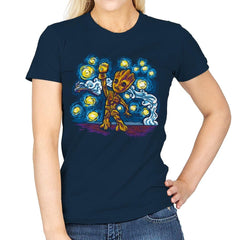 Starry Groot Exclusive - Womens - T-Shirts - RIPT Apparel