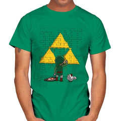 Link Graffiti - Mens - T-Shirts - RIPT Apparel
