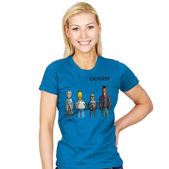 BOOZER - Womens - T-Shirts - RIPT Apparel