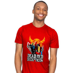 Dead Red Deception - Mens - T-Shirts - RIPT Apparel