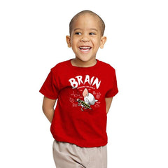 Brain Conquers The World! - Youth - T-Shirts - RIPT Apparel