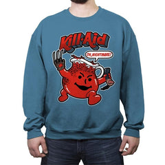 Kill-Aid - Crew Neck Sweatshirt - Crew Neck Sweatshirt - RIPT Apparel
