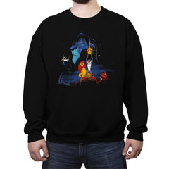 Lion Wars  - Crew Neck Sweatshirt - Crew Neck Sweatshirt - RIPT Apparel