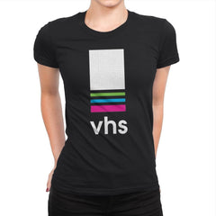 VHS Tape - Womens Premium - T-Shirts - RIPT Apparel
