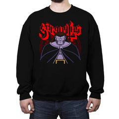 Gargoyle Metal - Crew Neck Sweatshirt - Crew Neck Sweatshirt - RIPT Apparel