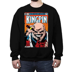 Kingpin #1 - Crew Neck Sweatshirt - Crew Neck Sweatshirt - RIPT Apparel