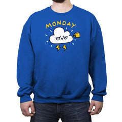 Case Of The Mondays - Crew Neck Sweatshirt - Crew Neck Sweatshirt - RIPT Apparel