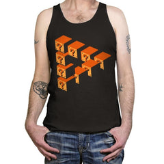Impossible Blocks - Tanktop - Tanktop - RIPT Apparel