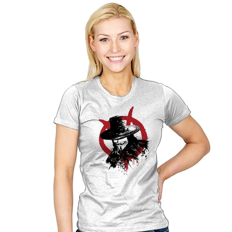 Revolution is Coming - Sumi Ink Wars - Womens - T-Shirts - RIPT Apparel