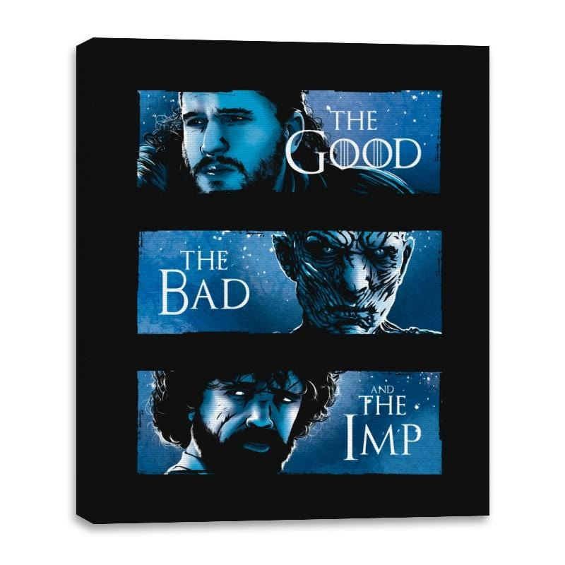 The Good, The Bad and The Imp - Canvas Wraps - Canvas Wraps - RIPT Apparel