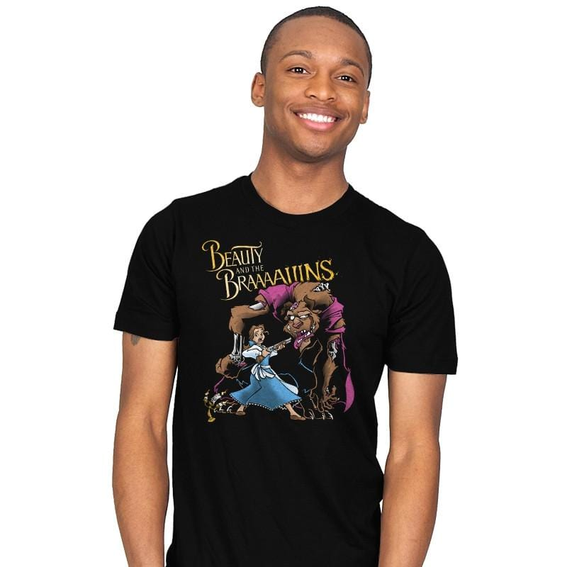 Beauty and the Brains Exclusive - Mens - T-Shirts - RIPT Apparel