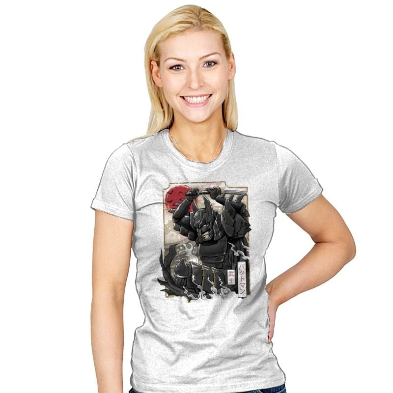 Dark Samurai Knight - Womens - T-Shirts - RIPT Apparel
